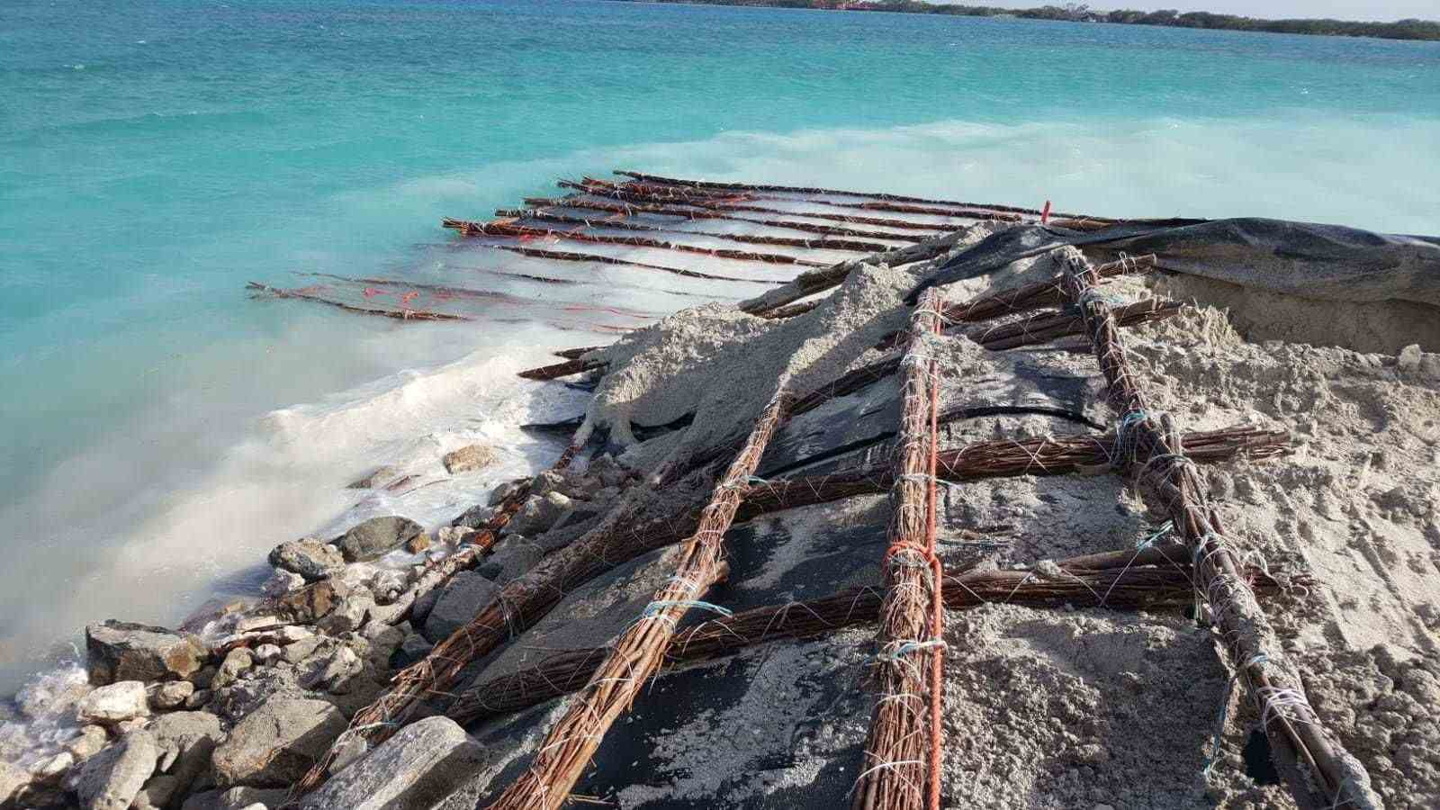 Aruba - This is how coasts can be protected.